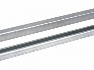 Cable fixing bars for plinth mounting (pair) for W=600 mm