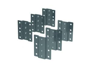 """19"""" Profile mounting brackets for 600 mm wide enclosures"""