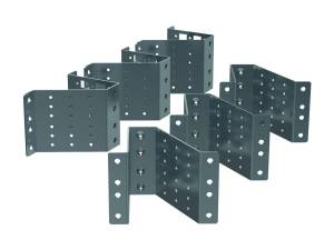 """19"""" Profile mounting brackets for 800 mm wide enclosures"""