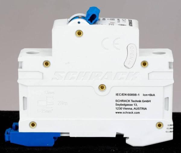 Miniature Circuit Breaker (MCB) AMPARO 6kA, C 2A, 1-pole