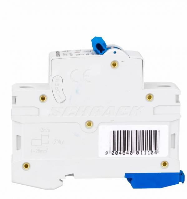 Miniature Circuit Breaker (MCB) AMPARO 6kA, C 16A, 1-pole