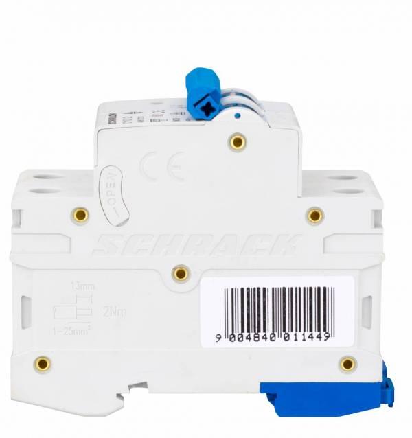 Miniature Circuit Breaker (MCB) AMPARO 6kA, C 10A, 2-pole