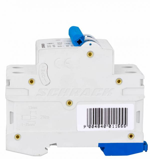 Miniature Circuit Breaker (MCB) AMPARO 6kA, C 63A, 2-pole