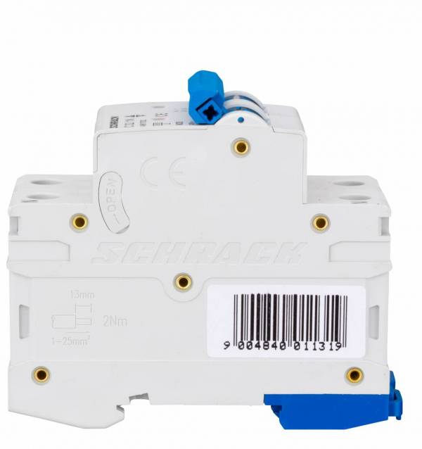 Miniature Circuit Breaker (MCB) AMPARO 6kA, C 32A, 1+N
