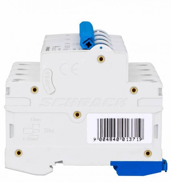 Miniature Circuit Breaker (MCB) AMPARO 6kA, C 16A, 3+N