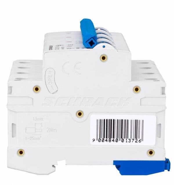 Miniature Circuit Breaker (MCB) AMPARO 6kA, C 20A, 3+N