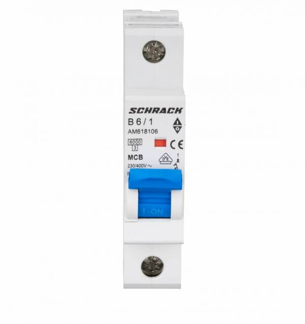 Miniature Circuit Breaker (MCB) AMPARO 6kA, B 6A, 1-pole
