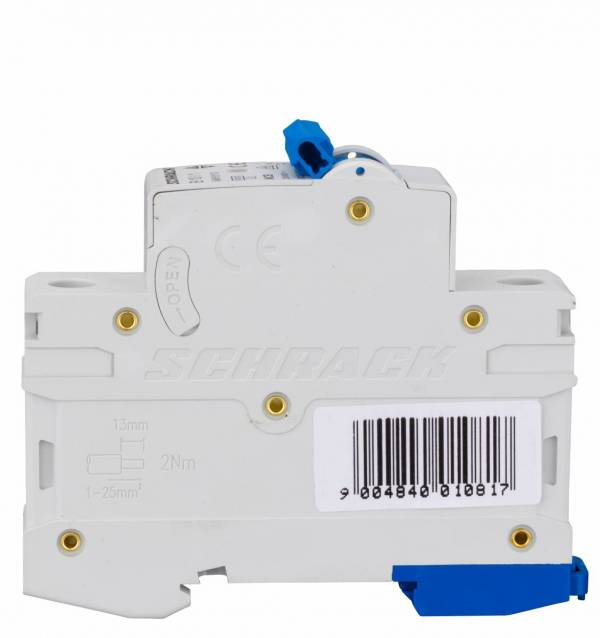 Miniature Circuit Breaker (MCB) AMPARO 6kA, B 10A, 1-pole