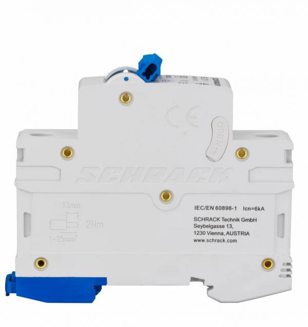 Miniature Circuit Breaker (MCB) AMPARO 6kA, B 20A, 1-pole