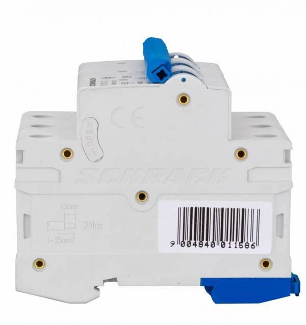 Miniature Circuit Breaker (MCB) AMPARO 6kA, B 13A, 3-pole