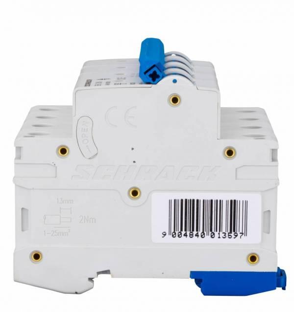 Miniature Circuit Breaker (MCB) AMPARO 6kA, B 6A, 3+N