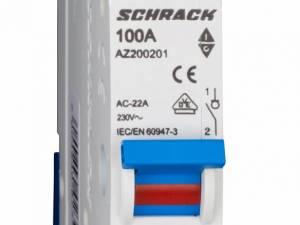 Main Load-Break Switch (Isolator) 100A, 1-pole