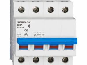Main Load-Break Switch (Isolator) 100A, 4-pole