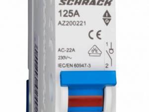 Main Load-Break Switch (Isolator) 125A, 1-pole