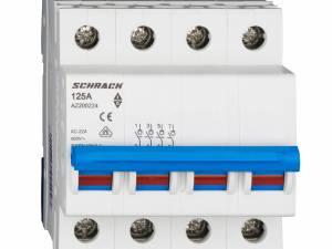 Main Load-Break Switch (Isolator) 125A, 4-pole