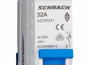 Main Load-Break Switch (Isolator) 32A, 1-pole