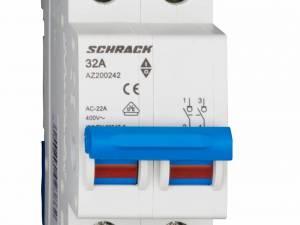 Main Load-Break Switch (Isolator) 32A, 2-pole
