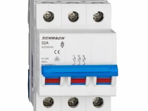 Main Load-Break Switch (Isolator) 32A, 3-pole