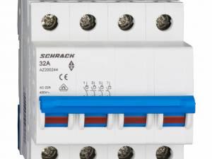 Main Load-Break Switch (Isolator) 32A, 4-pole