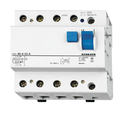 Residual Current Add-on Block 80/4/03-A