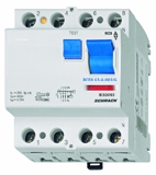 Residual current circuit breaker 63A, 4-pole,30mA, type AC,G
