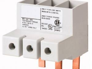 3-pole infeed terminal for BE6, 120A, UL certified