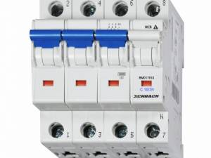 Miniature Circuit Breaker (MCB) C10/3+N, 10kA