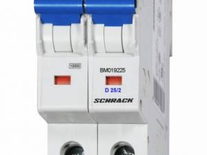 Miniature Circuit Breaker (MCB) D25/2, 10kA