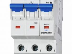 Miniature Circuit Breaker (MCB) D 6/3, 10kA