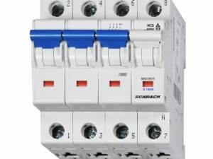 Miniature Circuit Breaker (MCB) D16/3+N, 10kA