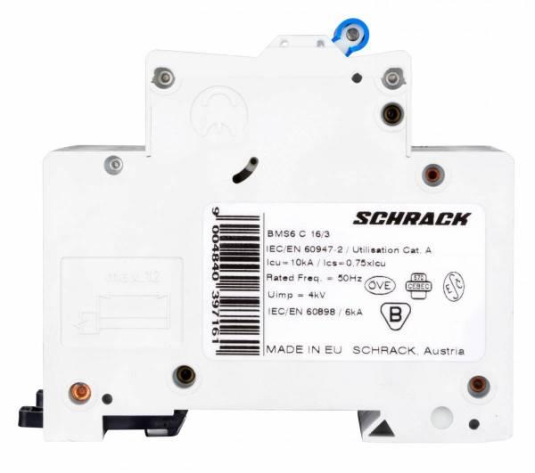 Miniature Circuit Breaker (MCB) C16/3, 6kA