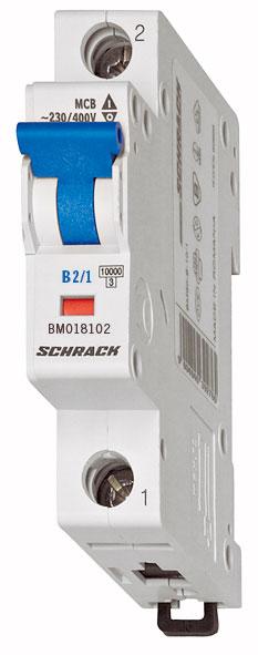 Miniature Circuit Breaker (MCB) B, 13A, 1-pole, 6kA
