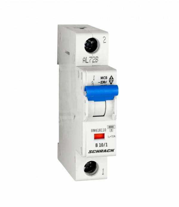 Miniature Circuit Breaker (MCB) B10/1, 6kA