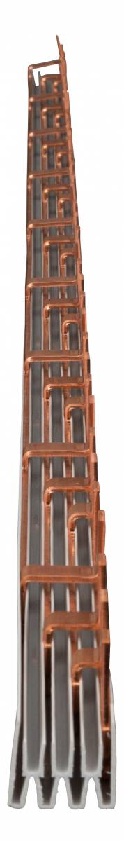 TYTAN Busbar Pin Version 30mm² / MW=27mm, 4 pole, 1m