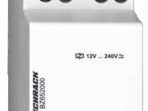 Modular relay, 2 CO, 12-240V AC/DC