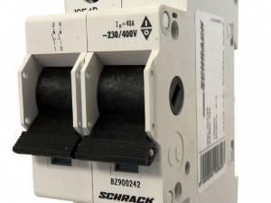 Main Load-Break Switch (Isolator) 40A, 2-pole, ME