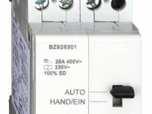 Day-/night contactor, 3-pole, 25A