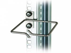"Cable Organizer Metal 80x80mm for mounting to 19""-rail"