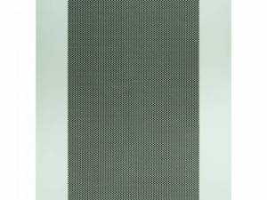 Rearpanel Metal perforated 80% for DS/DSZ 42U, W600, RAL7035