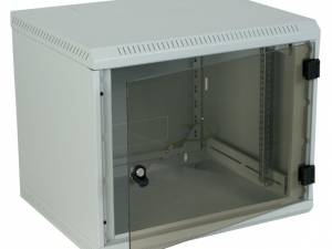 "Network Enclosure Wall DW Monobloc, W600xH500xD395, 19"", 9U"