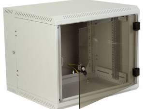 "Network Enclosure Wall DW Dualbloc, W600xH900xD615, 19"",18U"
