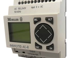 EASY512ACR-240VAC,control relay, 8IN-digital, 4OUT-relays