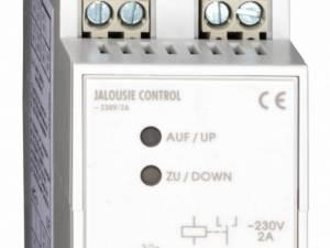Modular jalousie-contol-unit