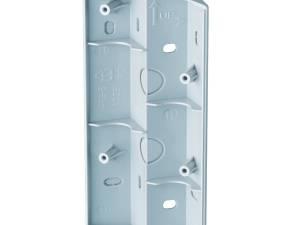 AF S Corner bracket for AF floodlight silver