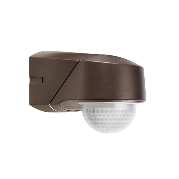 RC 130i IR motion detector,wall/ceiling mounting, IP54 braun