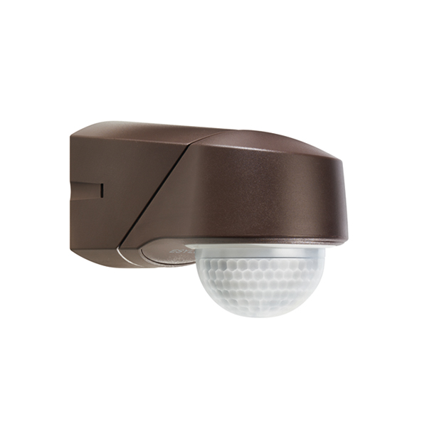 RC 230i IR motion detector,wall/ceiling mounting, IP54 braun