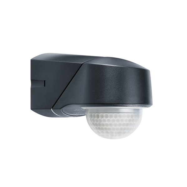 RC 280i IR motion detector,wall/ceiling mounting, IP54 black
