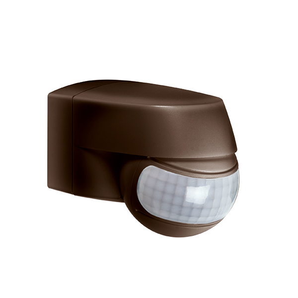 MD 200 motion detector wall/ceiling mounting, IP44 brown