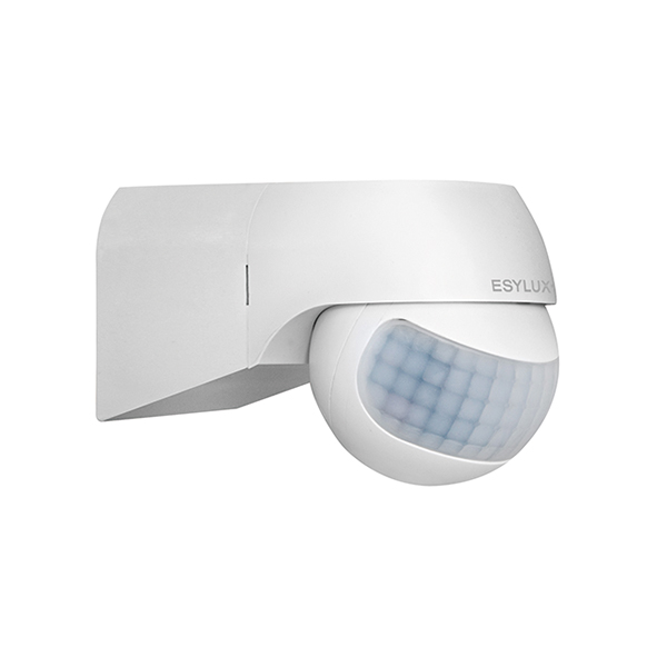 Motion detector for wall mounting, 180°, Ø20m, IP44