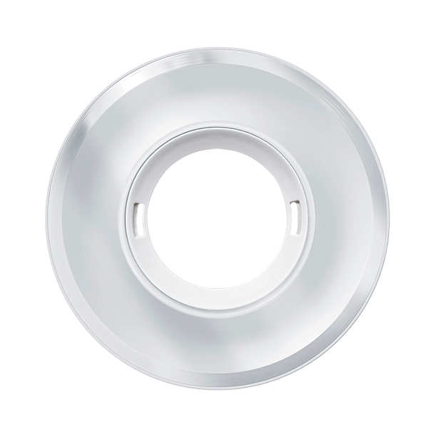 Glas cover for presence and motion detectors, round